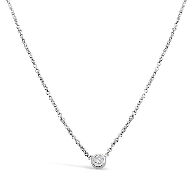 Collier Argent 925 oxyde de zirconium