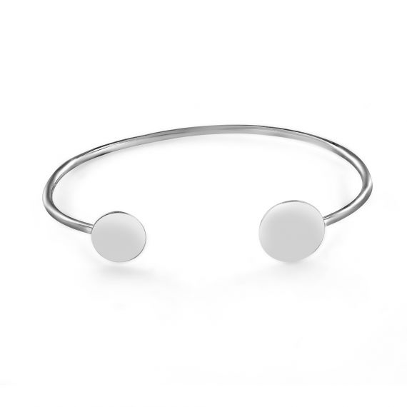 Aglaé sterling silver bangle