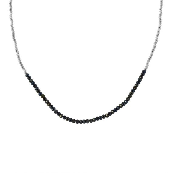 Coralie Gray Spinel sterling silver necklace