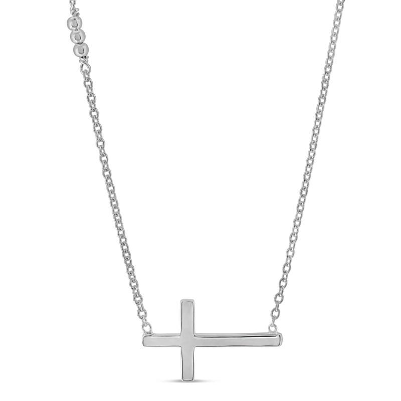 Collier Argent 925 croix