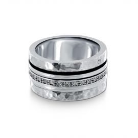 Silver Orelia Meditation ring