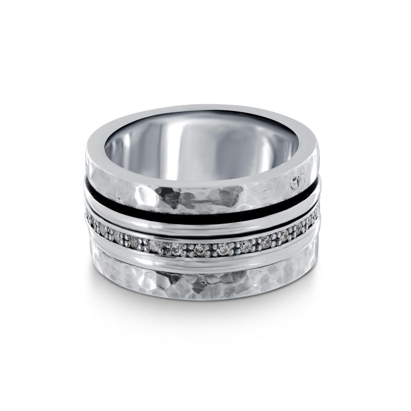 Silver Orelia Meditation ring