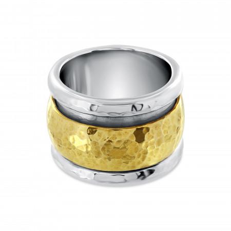 Silver Meditation ring