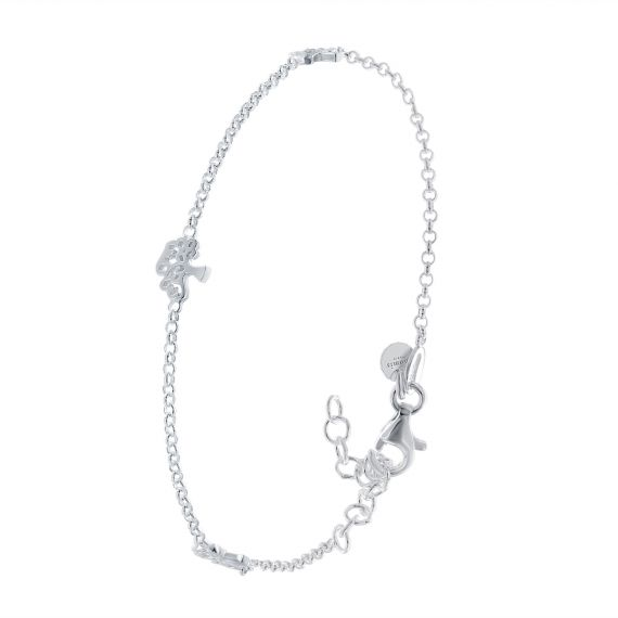 Sterling silver 3 trees of life bracelet