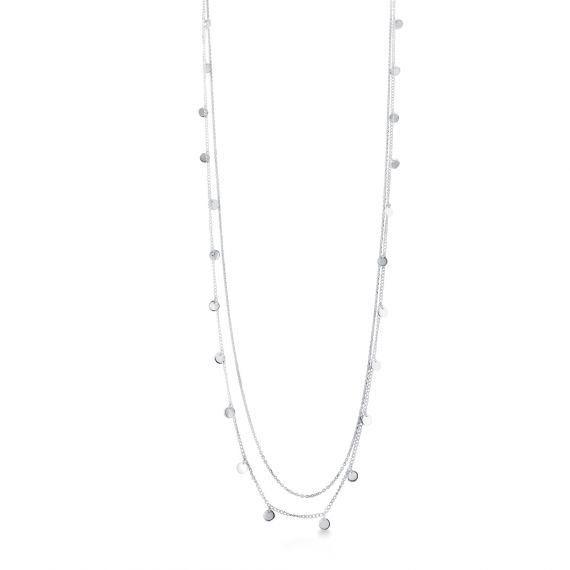 Pampille long necklace