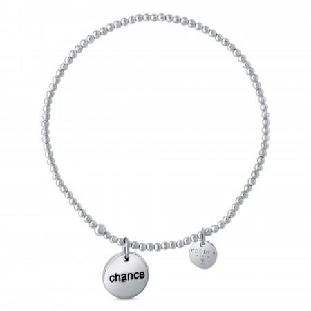 Bracelet élastique billes chance