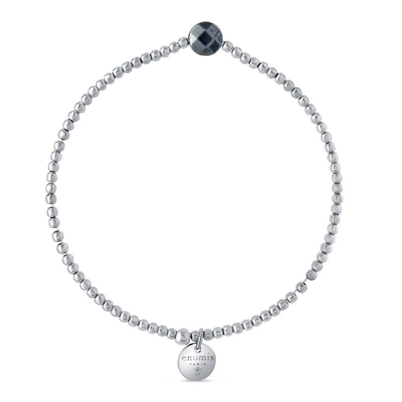 Bracelet élastique billes 2mm motif terra hertz