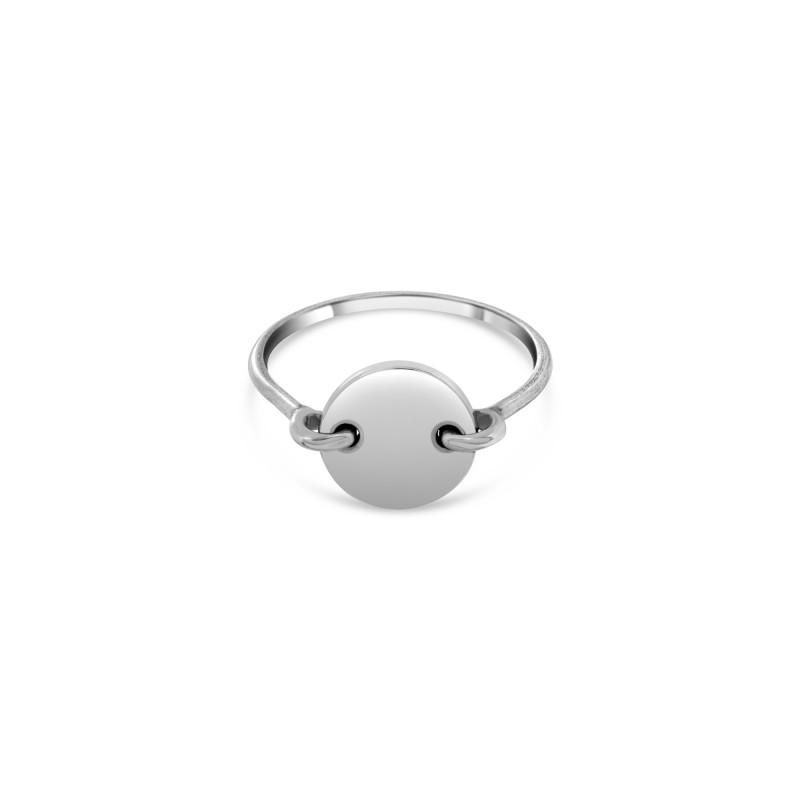 Silver Aglaé bead ring