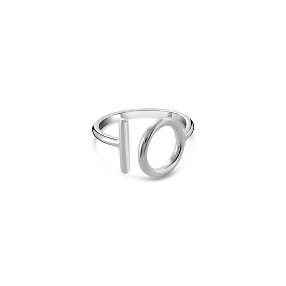 Silver OI ring