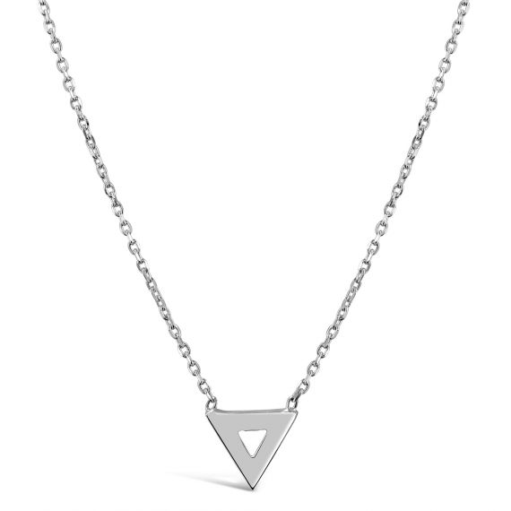 Collier Argent 925 triangle