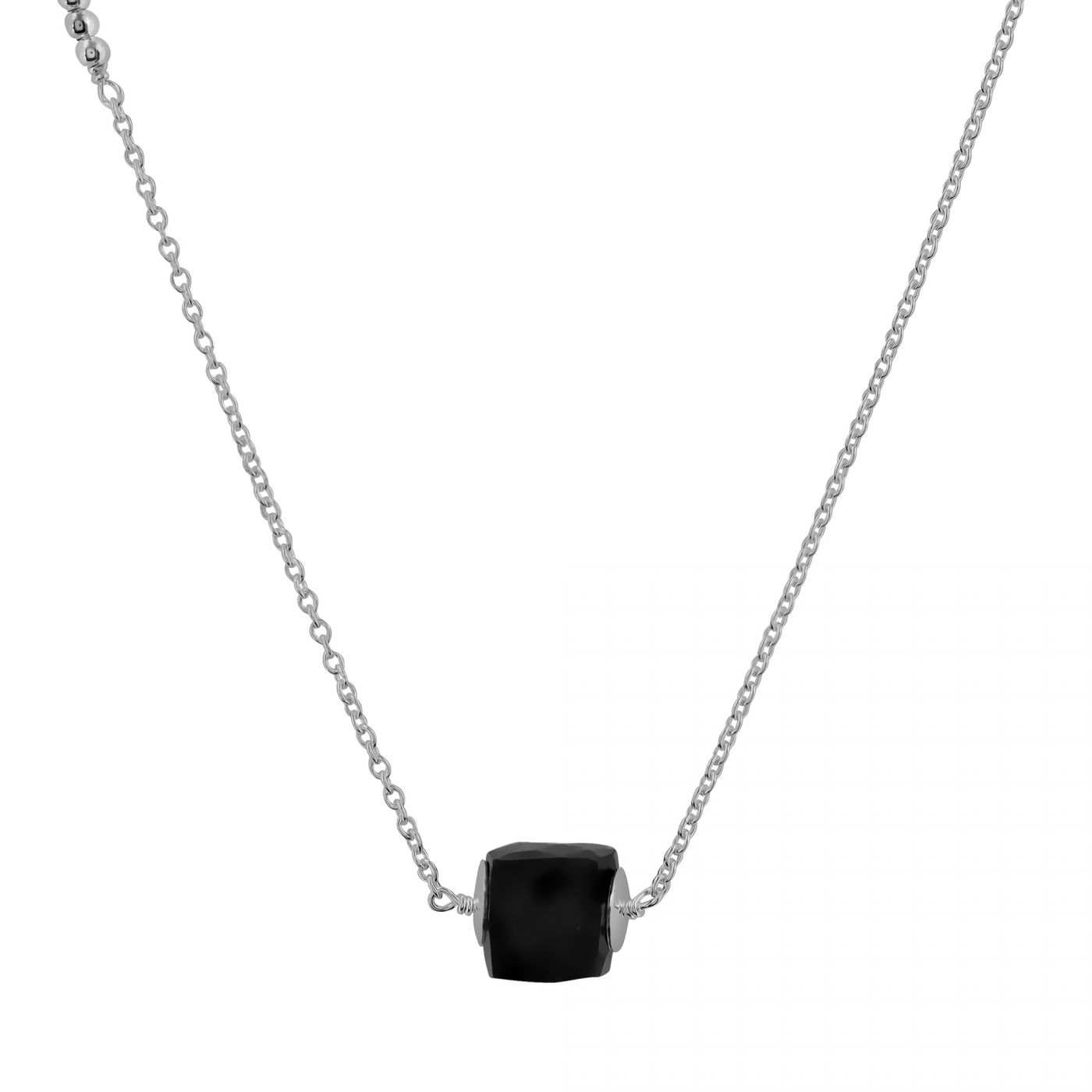 onyx black necklace product rectangle hq view full